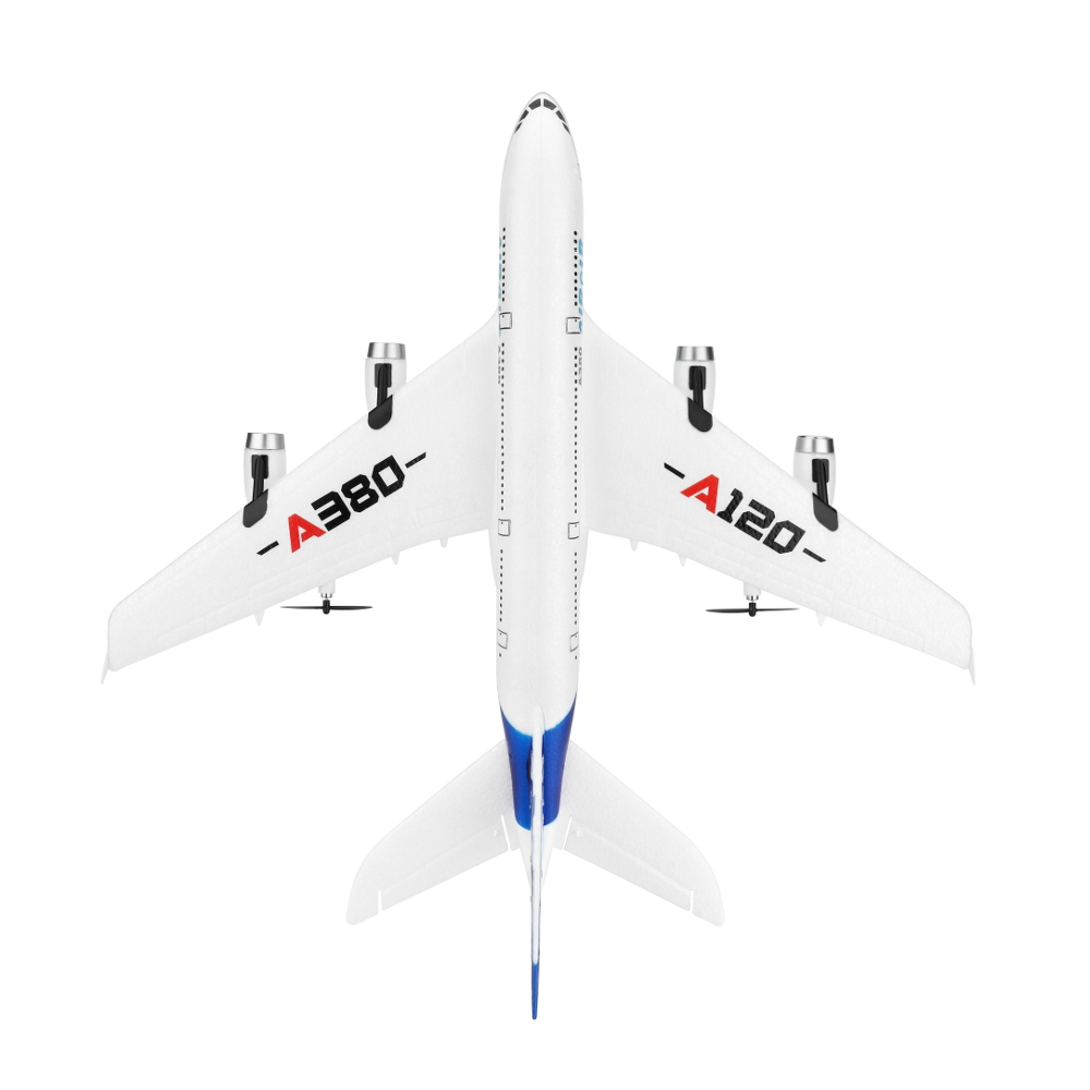 WLTOYS A120-A380 Airbus 510mm Wingspan 2.4GHz 3CH RC Airplane Fixed Wing RTF With Mode 2 Remote Controller Scale Aeromodelling