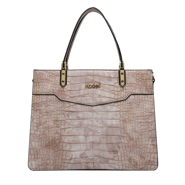 Kadell Crocodile Pattern Handbag Ladies Elegant Business Bag
