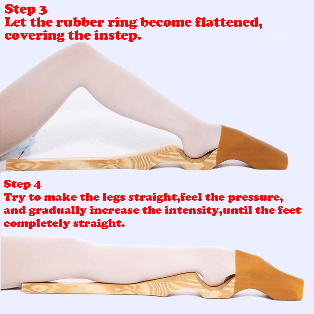 Elastic Rubber Sleeve Sports Bandage For Ballet Foot Stretcher Arch Enhancer Gymnastics Shaping