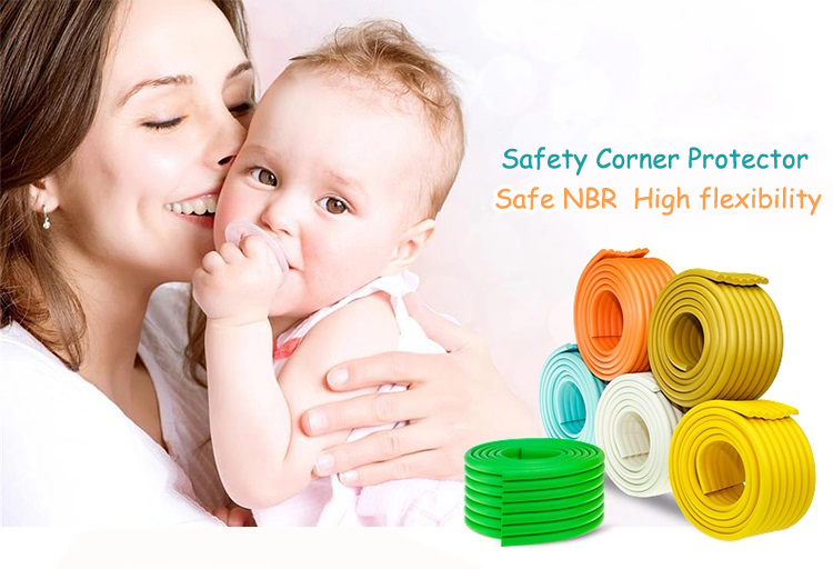 Baby Safety Corner Protector Edge Guard Glass Table Foam Bumper Collision Crash