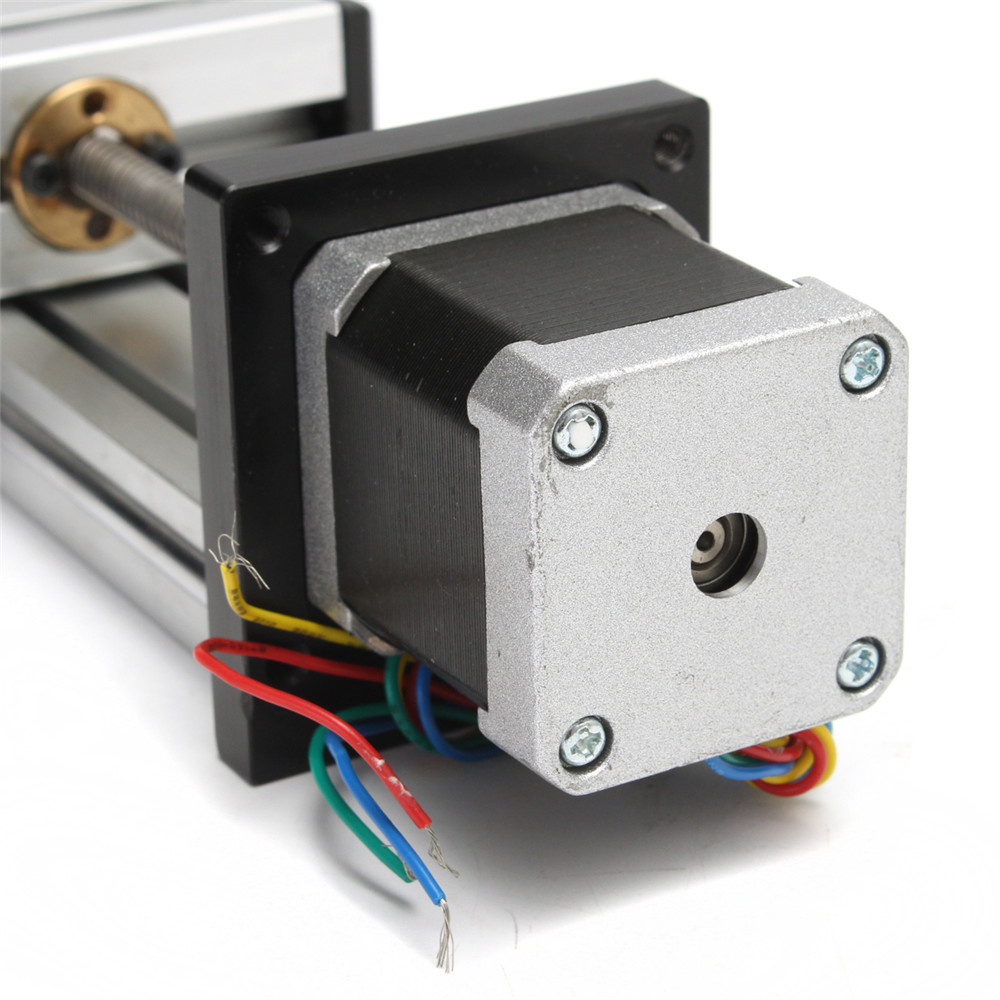 200mm Stroke Linear Actuator CNC Linear Motion Lead Screw Slide Stage with 42 Stepper Motor
