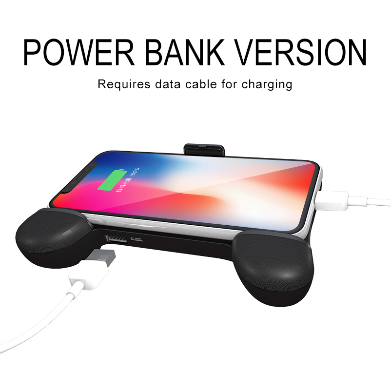 RKGAME 7TH Gamepad Game Holder Stand Cooling Fan Power Bank for Mobile Phone