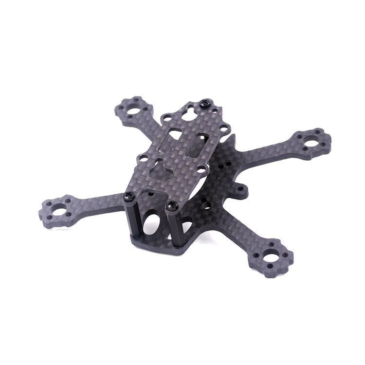 X2 ELF 88mm Micro Brushless FPV Racing Frame Kit RC Drone 3K Carbon Fiber