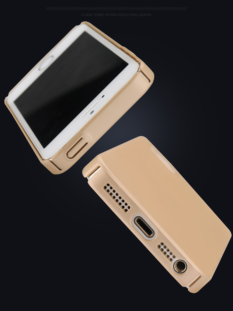Ultra Thin Anti Fingerprint Shockproof Hard PC Case for iPhone 5 5S SE