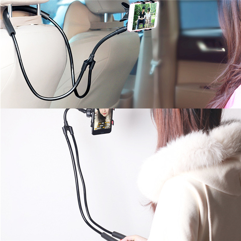 Universal Neck Strap Type 360 Degree Rotation Lazy Holder Stand for Xiaomi Mobile Phone Under 6 Inch