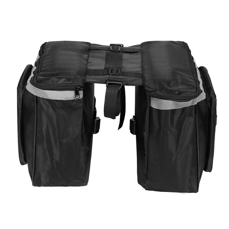 BIKIGHT 20L Bicycle Rear Rack Seat Saddle Bag Cycling Bike Pannier Tail Storage Pouch Bike Bag