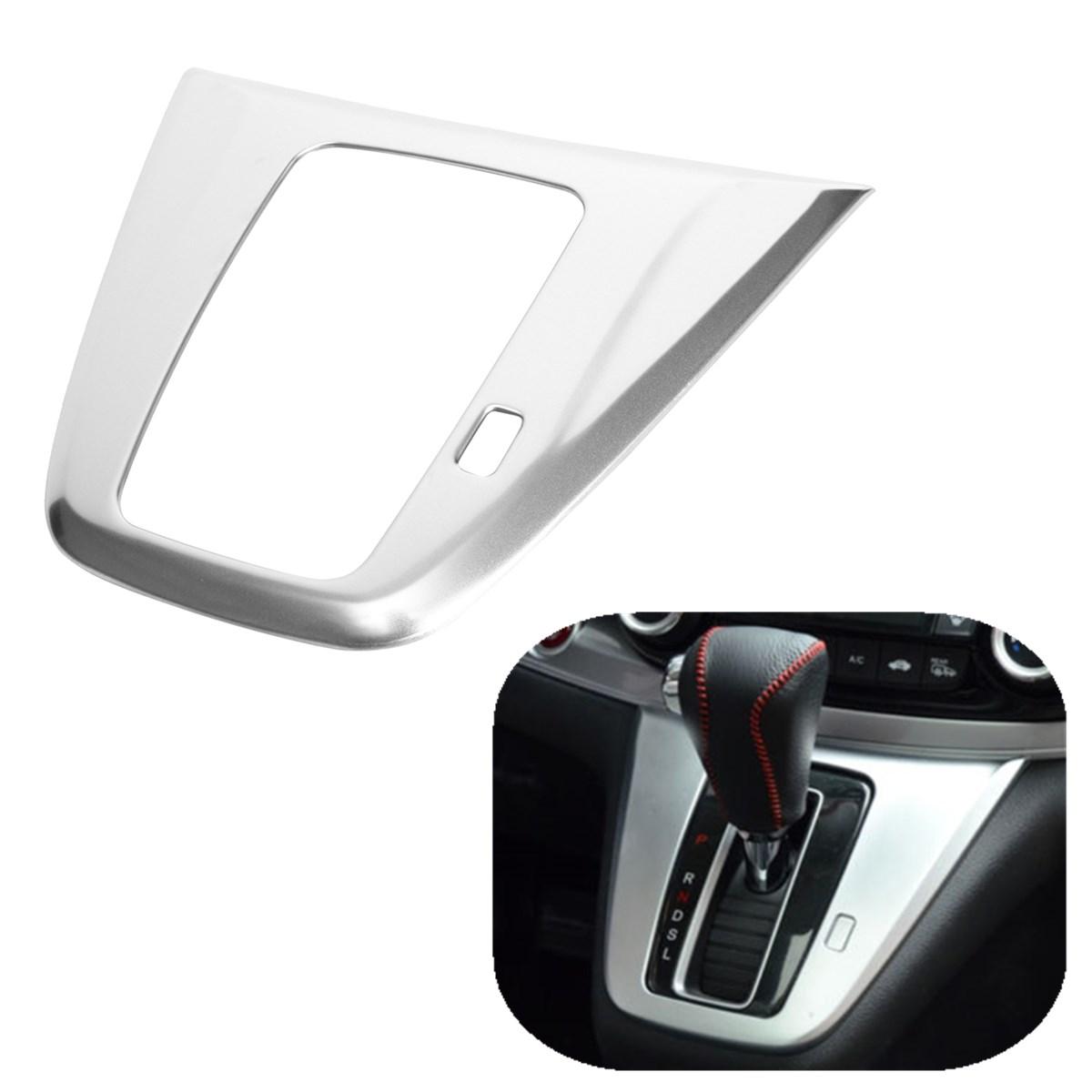 ABS Chrome Matte Gear Shift Panel Trim Frame Cover for Honda CR-V CRV 2012-2016