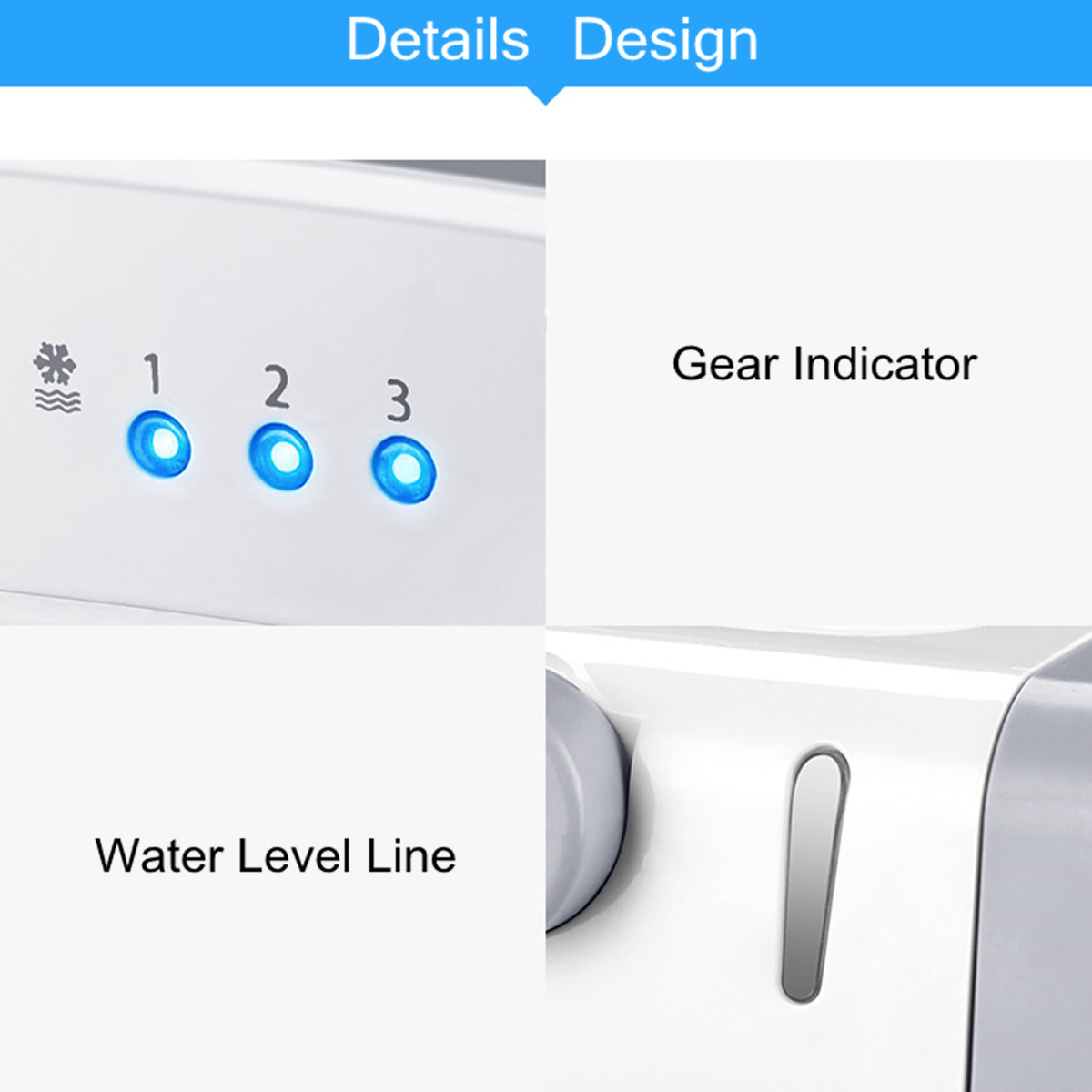 Personal Air Cooler Fan USB Portable Air Conditioner Refrigeration Humidification Purification