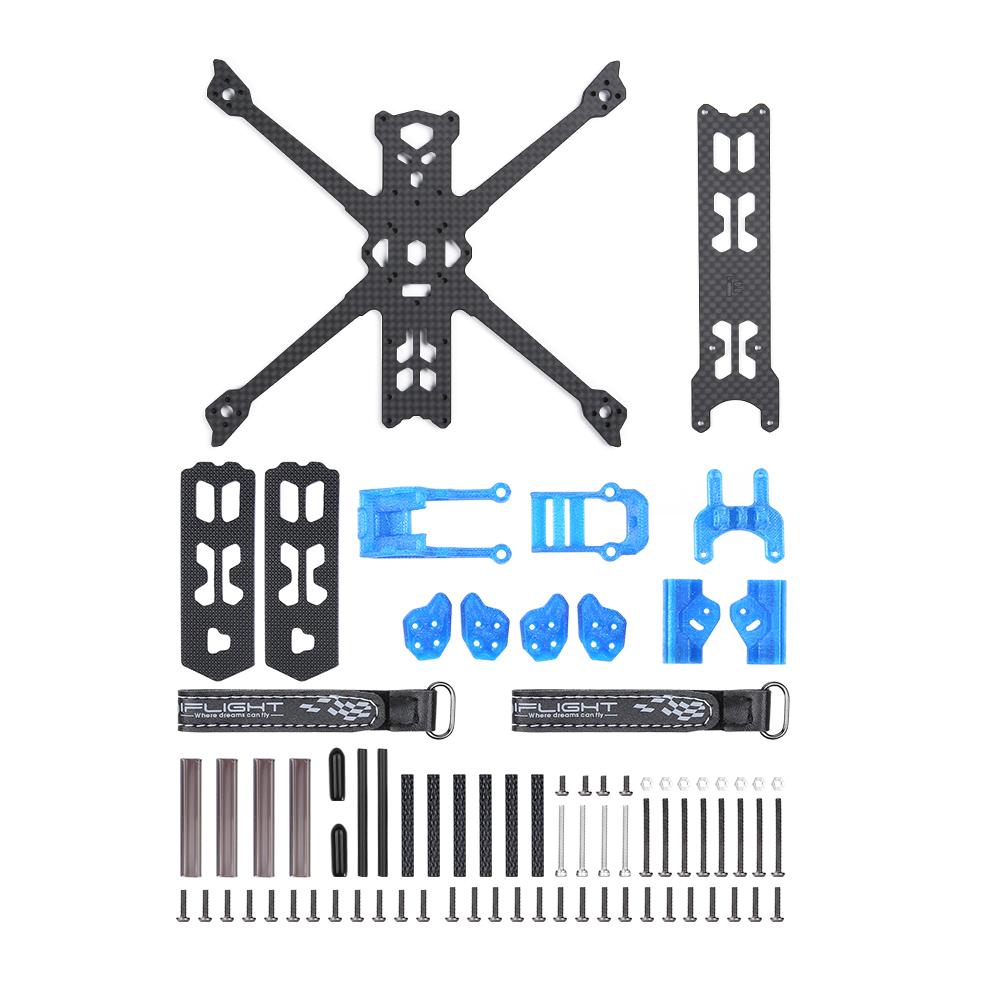 iFlight Chimera4 LR 4 Inch Micro Long Range Frame Kit X-Conversion 4mm Arm 25.5*25.5mm/20*20mm/16*16mm for RC Drone FPV Racing