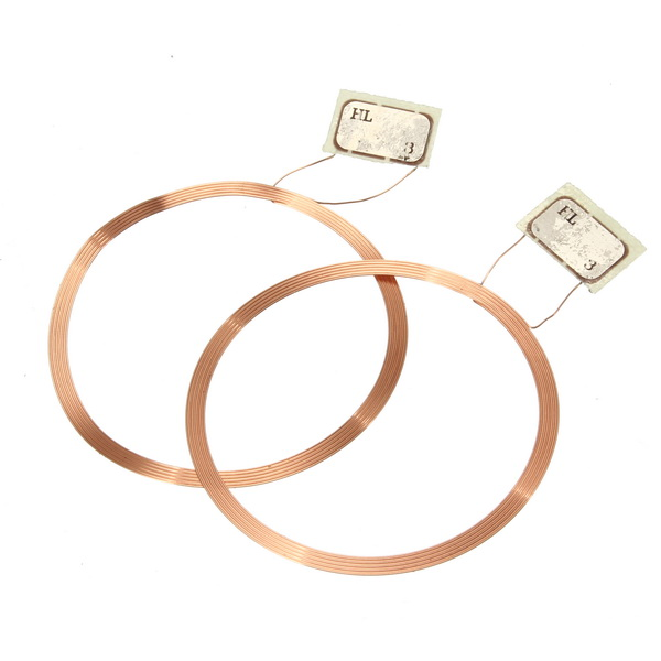 10Pcs NFC Coil UID Changeable RFID Card with Block Writeable Chip for MF1 1K S50 13.56Mhz NFC Card