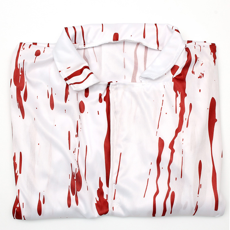 Halloween Costume Terror Nurse And Doctor Clothes With Blood Adult Costume