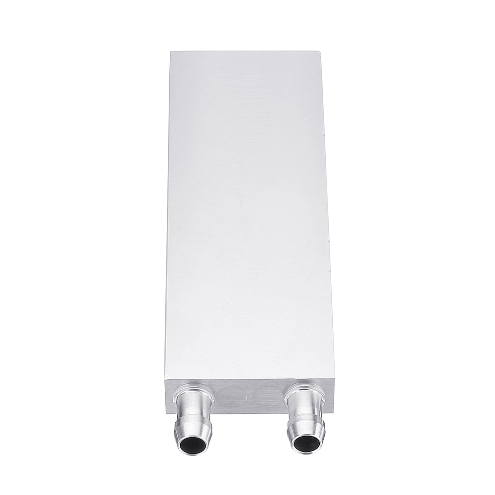Semiconductor Water-cooled Aluminum Liquid Cold Water Plate M-type Flow Channel Equipment For Computer CPU Cooling