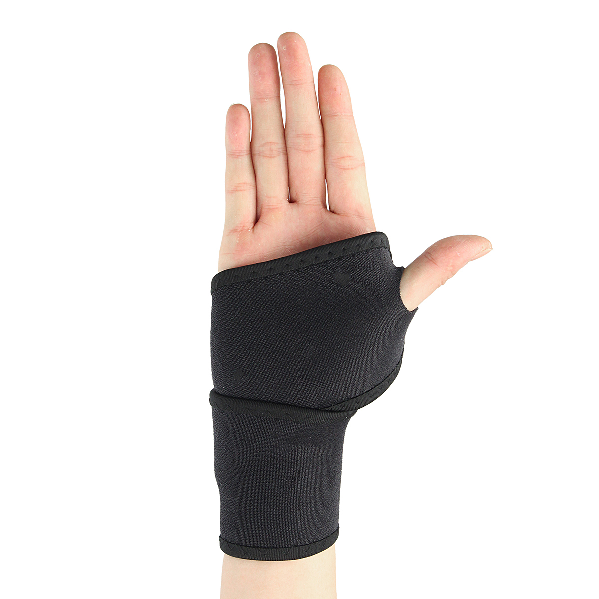 Sports Adjustable Wrist Palm Wrap Guard Band Neoprene Hand Support Gym Sprain Strain Strap