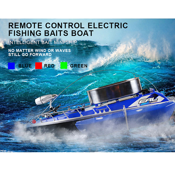 Bobing 80-300m Control Range Intelligent RC Fishing Boat Finder Mini Fishing Lure Ship 5 Hours