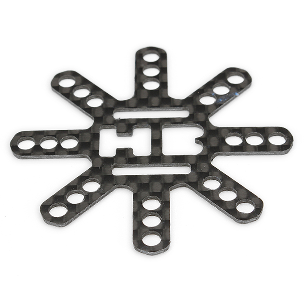 0.9g M3 Carbon Fiber Universal Connector for 20x20mm 30.5x30.5mm Flight Control Motor RC Drone