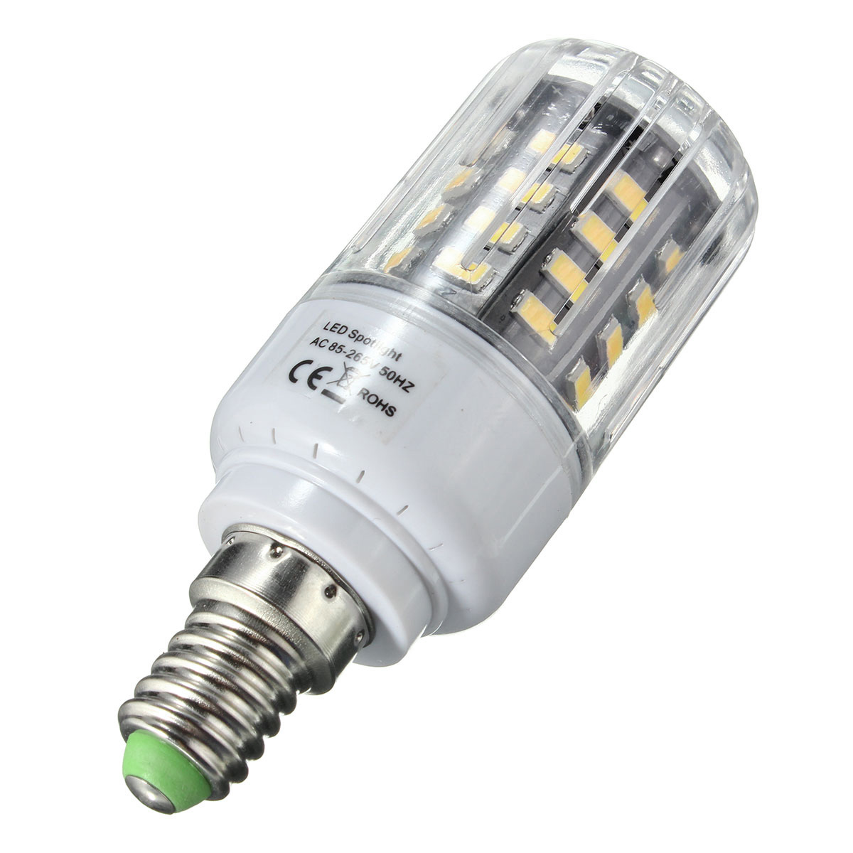 E27 E17 E14 E12 B22 GU10 3W 40 SMD 5736 LED White Warm White Natural White Light Corn Bulb AC85-265V