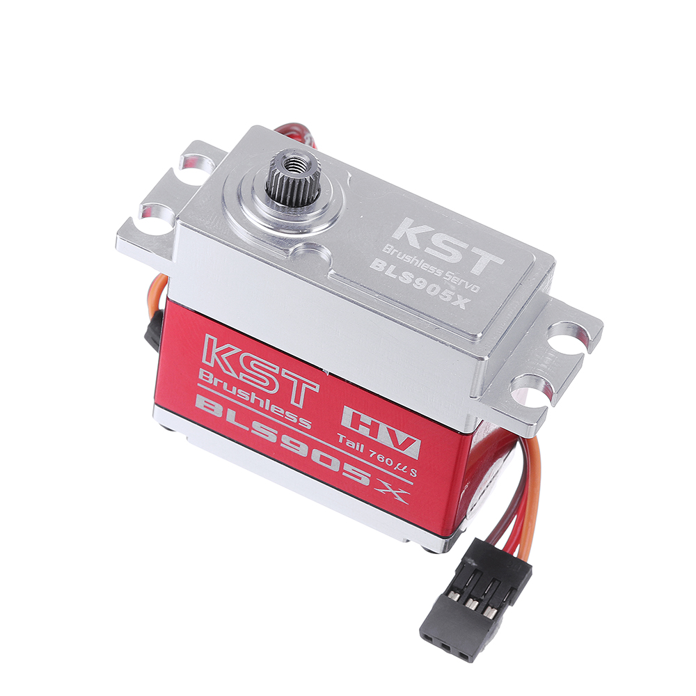 KST BLS905X Brushless Metal Gear Head-Locking Digital Servo For 550-800 Class RC Helicopter RC Car - Photo: 4