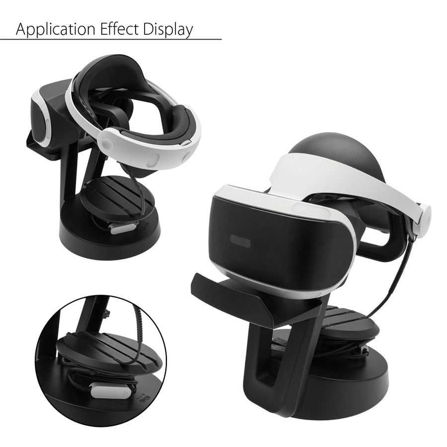 SPARKFOX Universal Detachable VR Glasses Headset Holder Bracker Cable Organizer Management