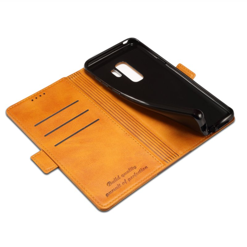 Bakeey Hybrid Color Wallet Card Sots Kickstand Phone Case For Samsung Galaxy S9 Plus