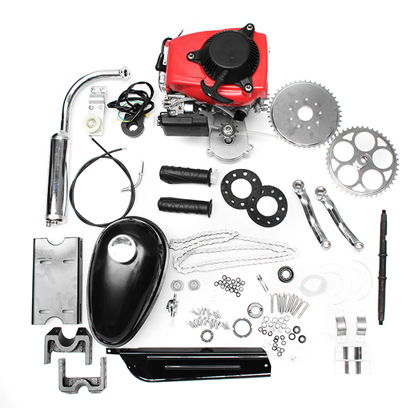 4-Stroke 49cc Gas Petrol Motorized Bicycle Scooter Bike Engine Motor Kit
