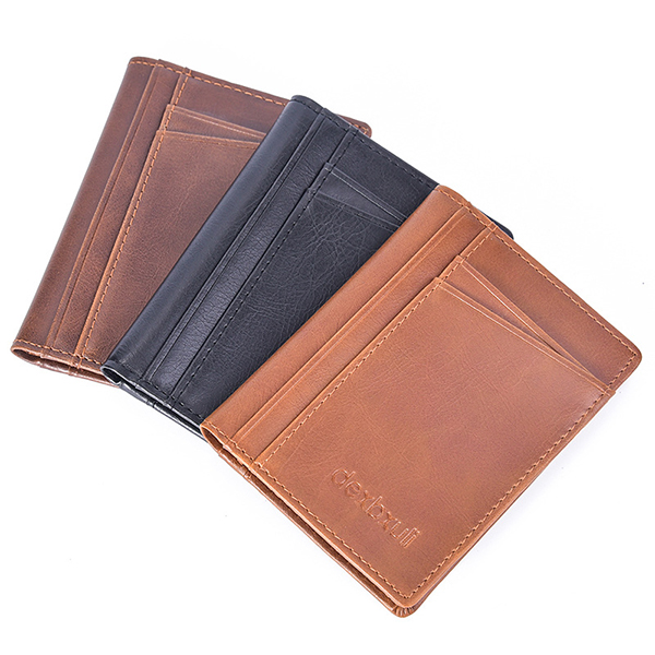 Men Vintage Multi-card Slots Driver License Bag Card Holder
