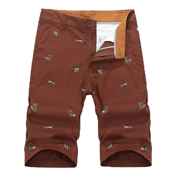 Mens Summer Cotton Casual Holiday Beach Shorts Trousers