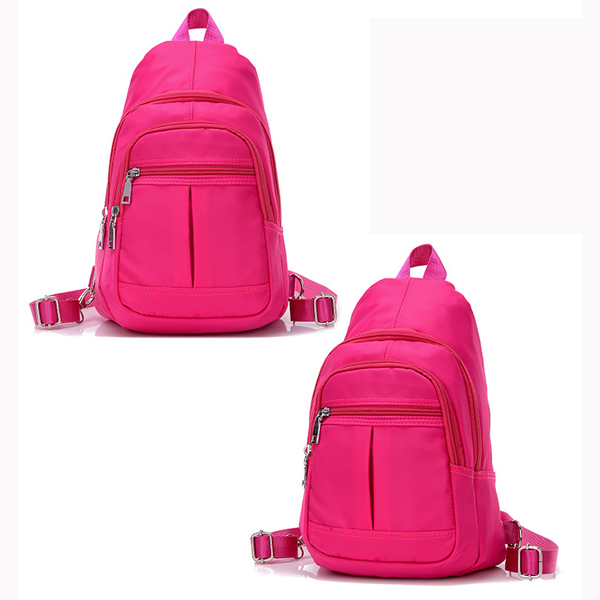Waterproof Nylon Multi-Purpose Shoulder Bag Backpack Chest