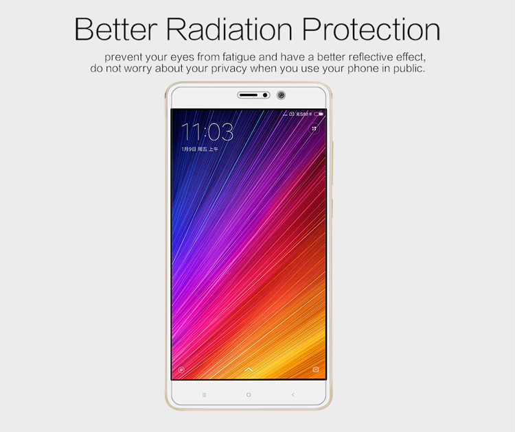 NILLKIN Matte Film Anti Glare Screen Protector for Xiaomi Mi 5S Plus