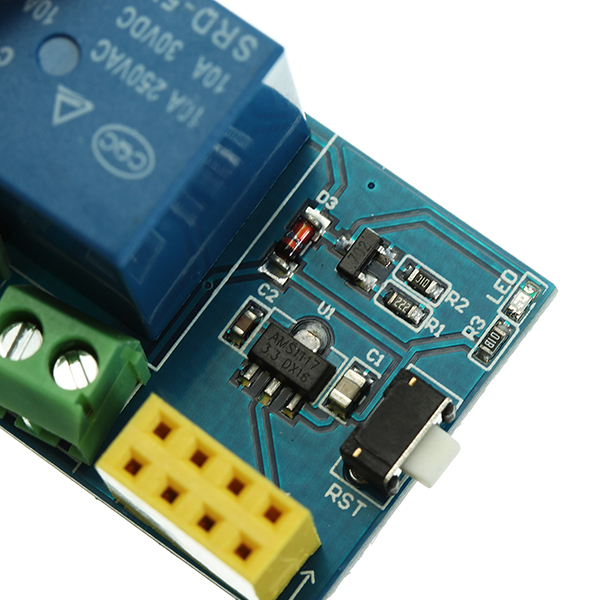 ESP-01S Relay Module WiFi Smart Remote Switch Phone APP DIY Project Design For Arduino