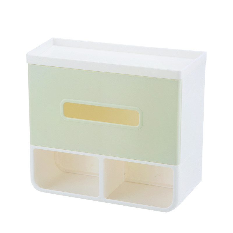 4 Colors Bathroom Toilet Paper Holder Suckers Tissue Box Sundries Lavatory Closestool Tissue Box
