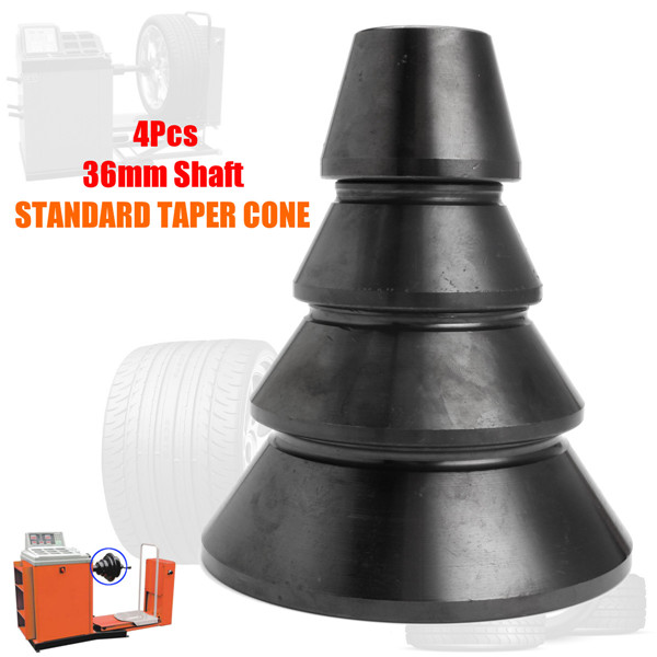 4pcs Standard Taper Cone Set for 36mm Shaft Accuturn Coats