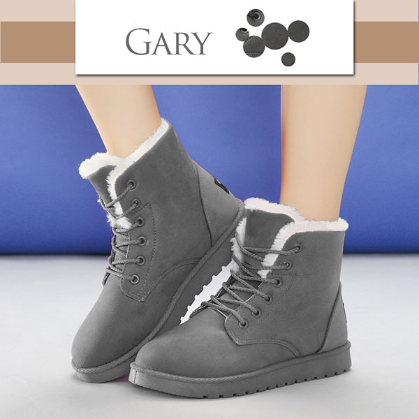 Winter Warm Suede Cotton Comfortable Ankle Snow Boots