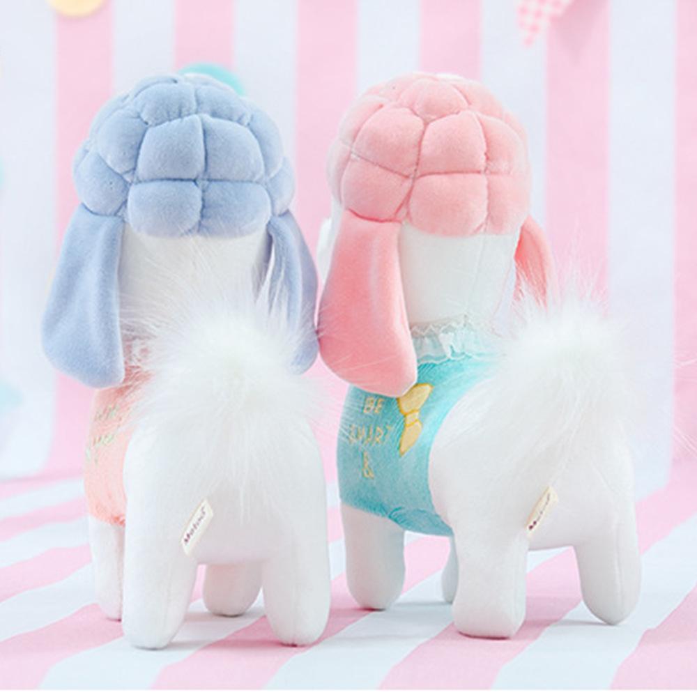 Metoo 24CM Poodle Dog Plush Toy Stuffed Cartoon Animal Doll For Baby Kids Birthday Gift