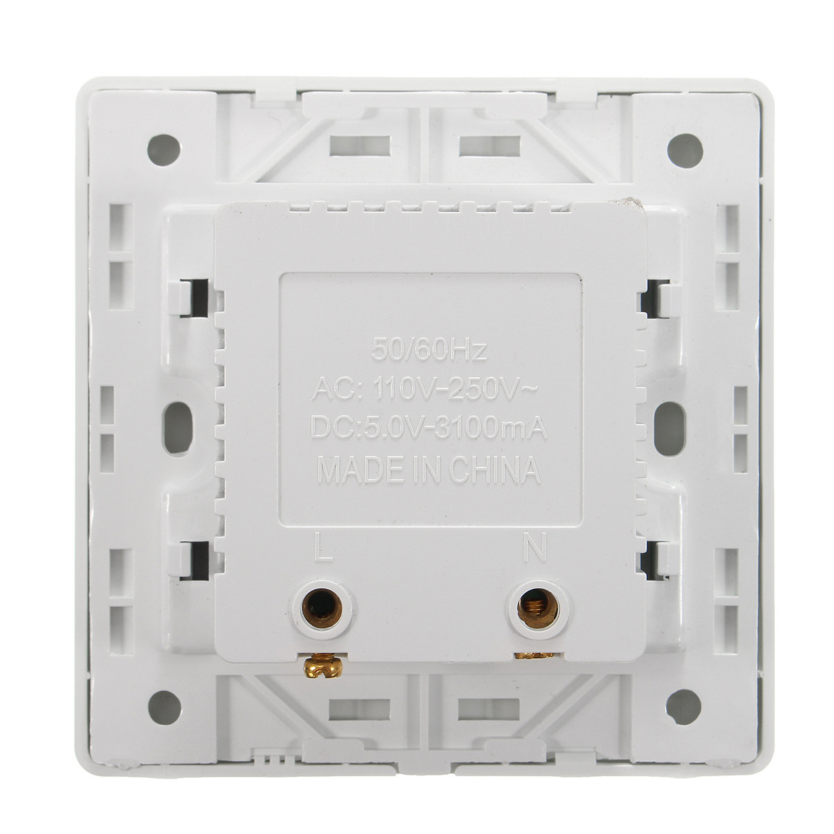USB 3 Port Wall Socket Charger Power Receptacle Outlet Plate Panel ...