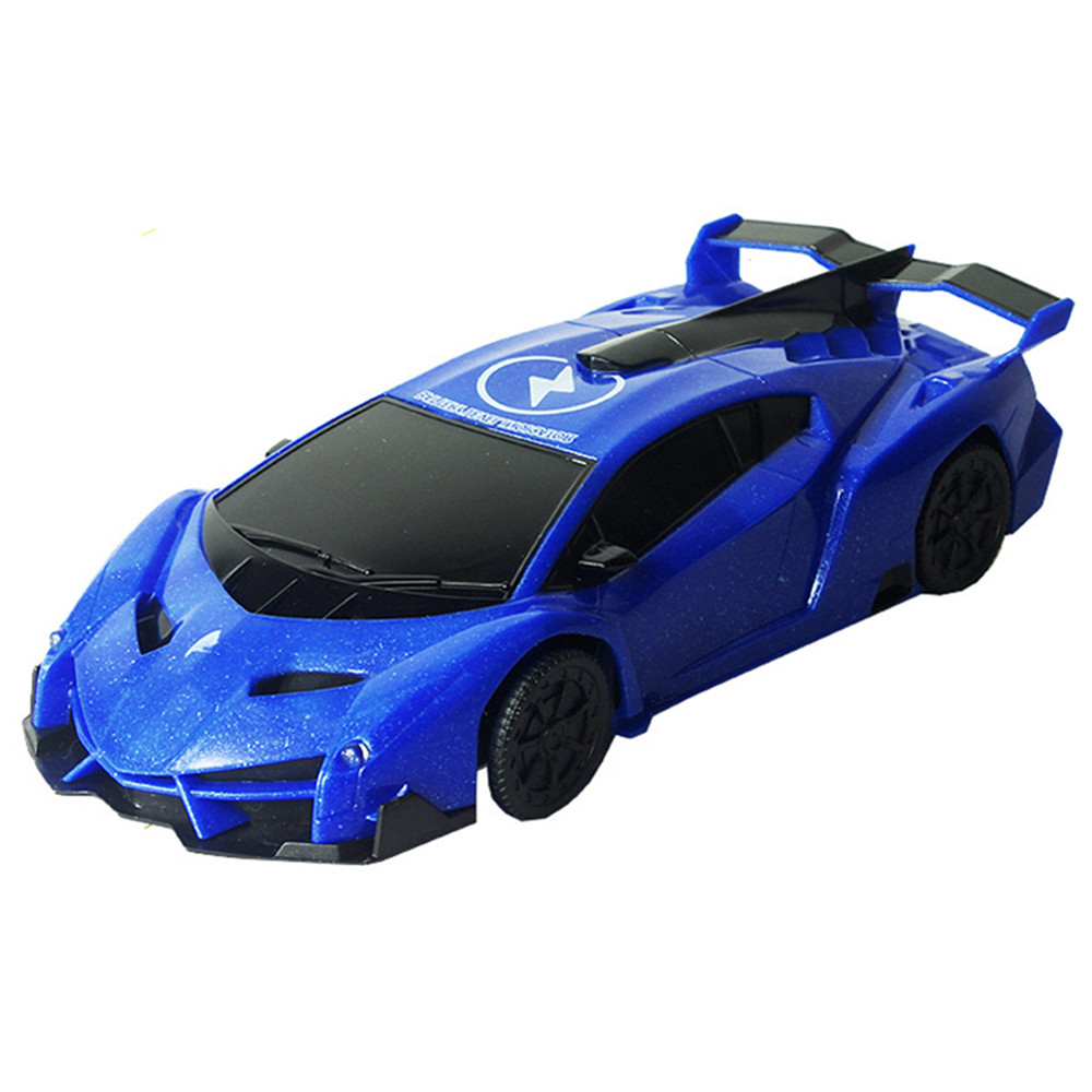 1PC XZS Wireless Control Defying Land Wall Climbing Rc Car Stunt Vehicle W/ Light Rechargable Toy