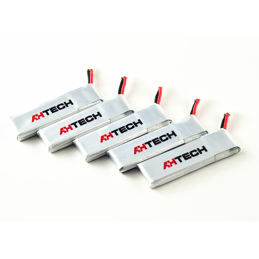 5Pcs AHTECH Infinty Battery 3.8V 450mAh 85C 1S LiPo Battery for Quadcopter - Photo: 4