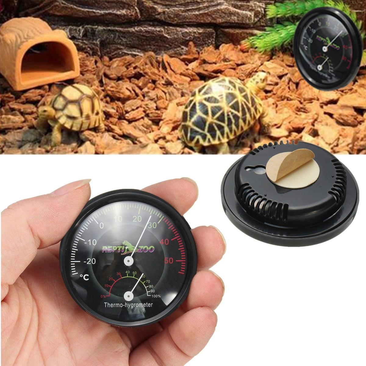 2 In 1 Reptile Terrarium Thermometer Humidity Gauge