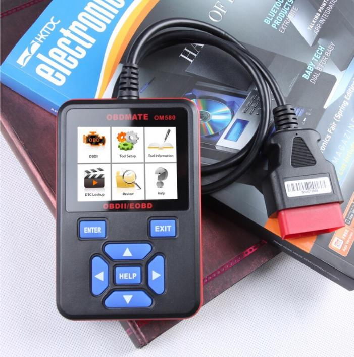 Autophix Om580 OBD2 Scanner Automotive Diagnostics Tool Car Engine Code Reader