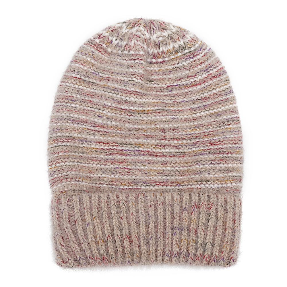 Winter Men Women Imitation Velvet Pullover Knit Cap