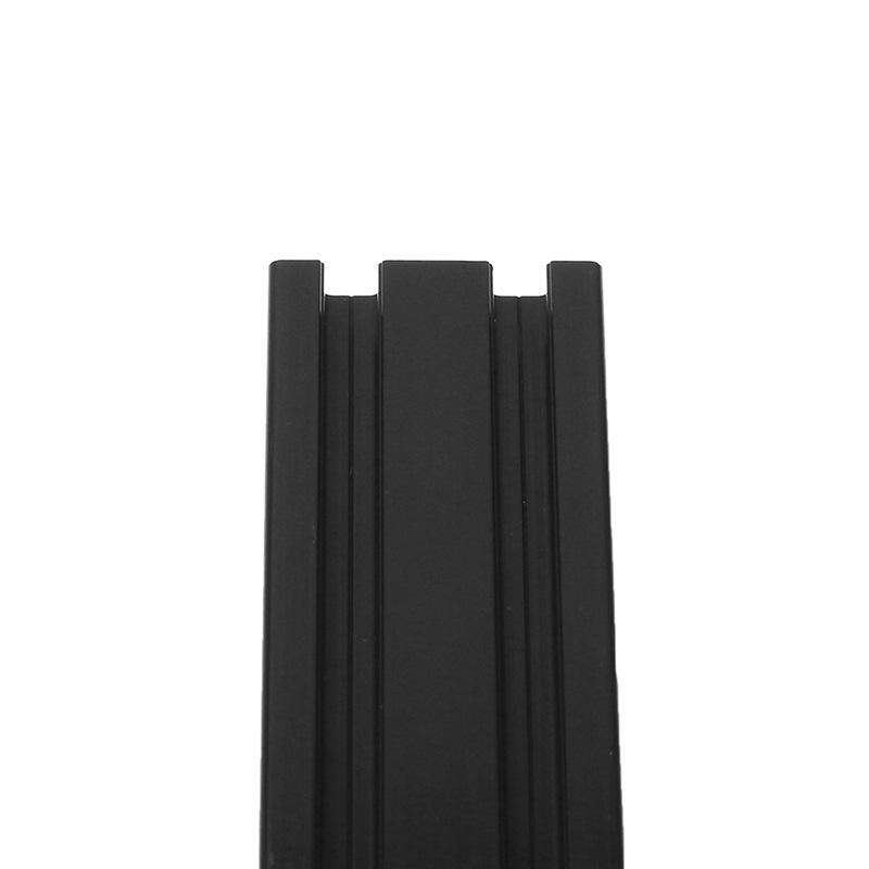Machifit 600mm Length Black Anodized 2040 T-Slot Aluminum Profiles Extrusion Fra