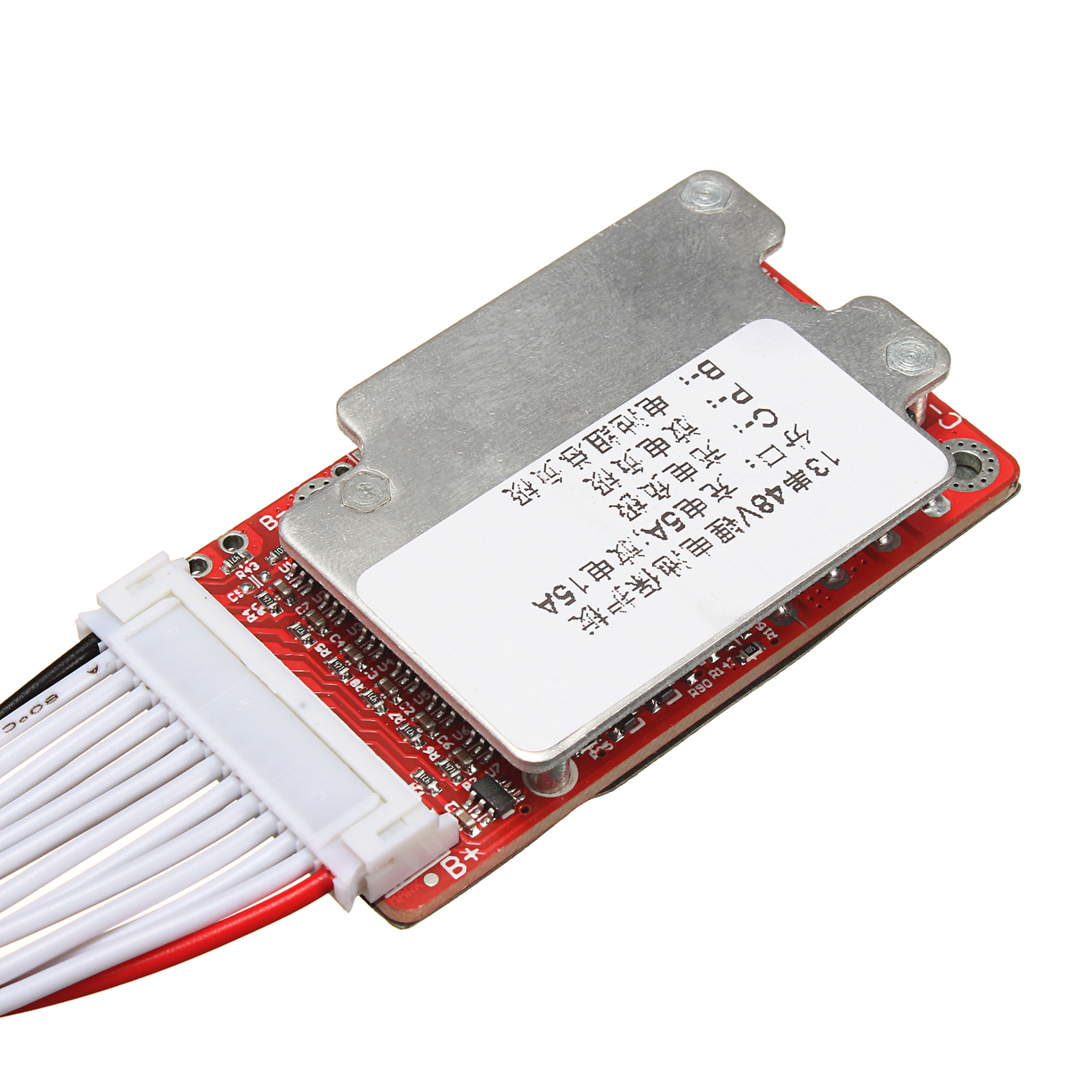 48V 13S 15A-45A 20x 3.6V/3.7V/4.2V Lithium ion Li-ion Li-Po Battery Protection Board BMS PCB