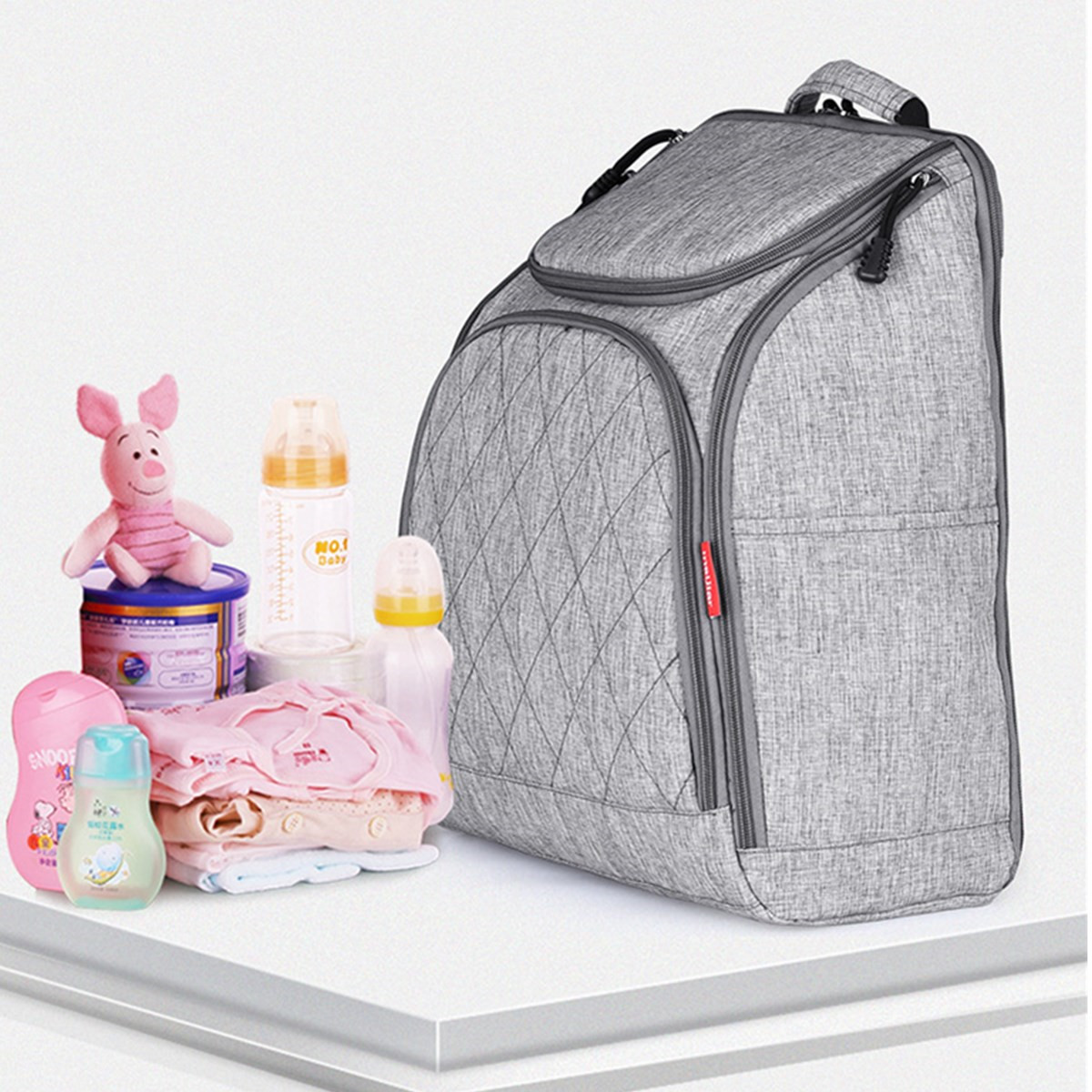 Mummy Maternity Nappy Diaper Bag Large Capacity Baby Travel Handbag Backpack