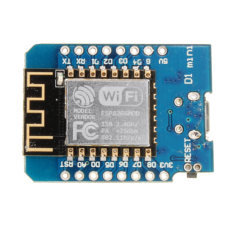 5Pcs Wemos® D1 Mini V2.3.0 WIFI Internet Of Things Development Board Based ESP8266 ESP-12S 4MB FLASH
