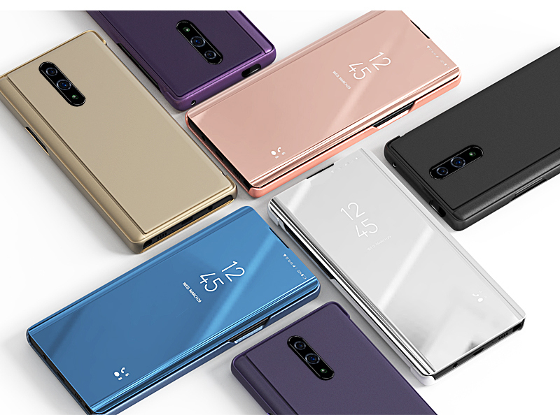 Bakeey Plating Mirror Window Shockproof Flip Full Cover Protective Case for OnePlus 7