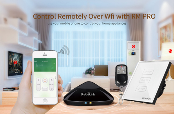FUNRYST2-EU-R Wall Switch Capacitive Touch Switch Luxury Tempered Glass Surface Waterproof/Fireproof Remote Control Support RM PRO