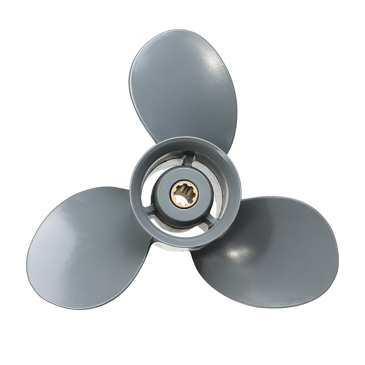 9 1/4 x 8 Aluminum Alloy Outboard Propeller For Honda 8-20HP 58130-ZV4-008AH