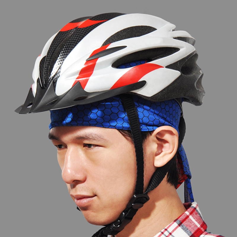 Mens Sweat Wicking Adjustable Cycling Skull Cap