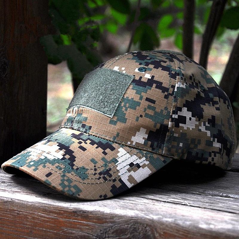 HAN WILD Hot Hunting Tactical Baseball Cap Unisex Cotton ACU Desert Camouflage Hat