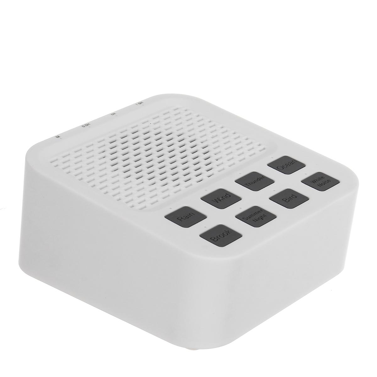 Wireless Mini White Noise Sound Machine with 8 Nature Sound