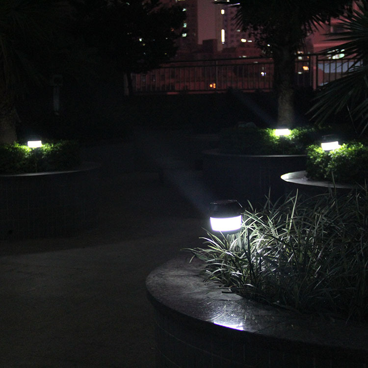 Solar Power Sonic Wave Anti-mosquito LED Light Garden Stainless Steel Waterproof Lamp